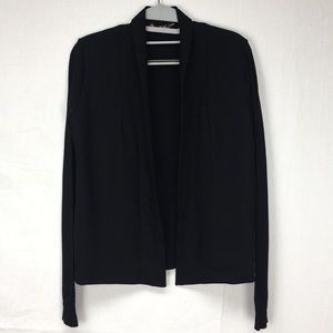 Ted Baker Black Faiyly Open Front LS Cardigan